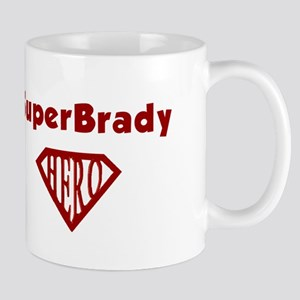 Super Hero Brady Mug