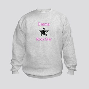 Emma - Rock Star Kids Sweatshirt