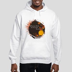 Buddha Quote Hooded Sweatshirt