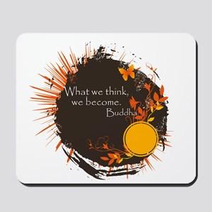 Buddha Quote Mousepad