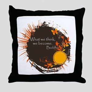 Buddha Quote Throw Pillow