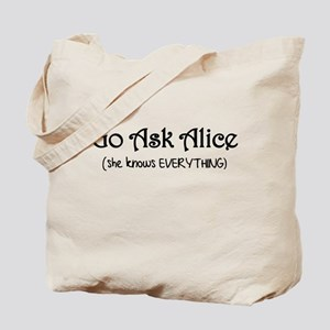 Go Ask Alice Twilight Tote Bag
