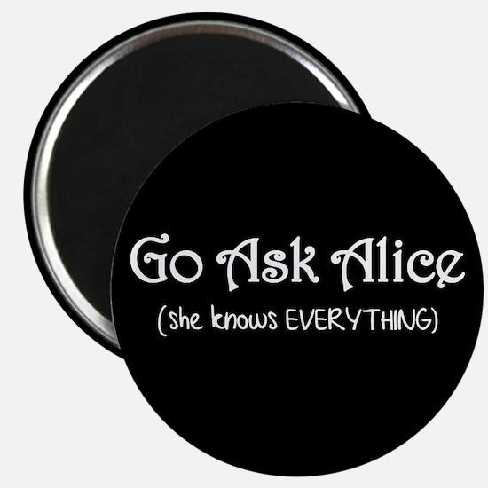 Go Ask Alice Twilight Magnet
