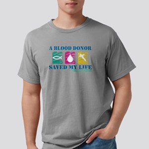 Blood donor saved cl Mens Comfort Colors® Shirt