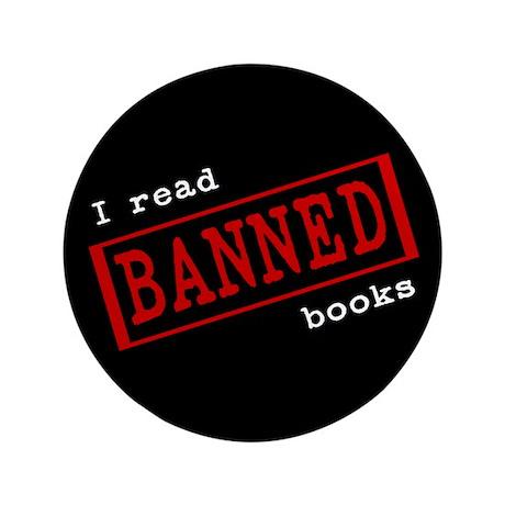 "Banned Books 3.5"" Button"