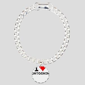 I Love Pontooning Bracelet