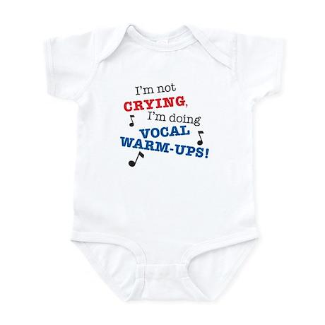 Vocal Warm-ups Infant Onesie