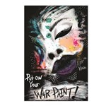 Put On Your War Paint! Postcards (package Of 8)