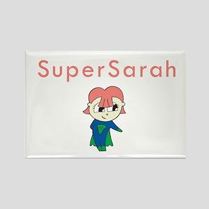 SuperSarah Rectangle Magnet