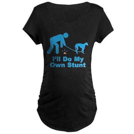 Sloughi Maternity Dark T-Shirt