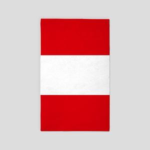 Flag: Austria Area Rug