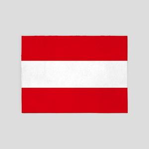 Flag: Austria 5'x7'Area Rug
