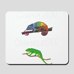 Lizard Chamelon Chamelof Funny Chameleon Mousepad