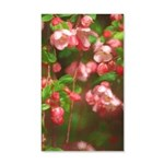 Pink Blossoms 35x21 Wall Decal