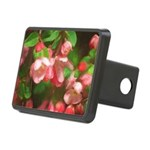 Pink Blossoms Rectangular Hitch Cover