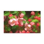 Pink Blossoms 20x12 Wall Decal