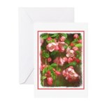 Pink Blossoms Greeting Cards (Pk of 20)