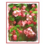 Pink Blossoms Small Poster