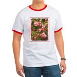 Pink Blossoms Ringer T