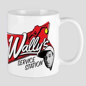 Wally's Service Station Mug