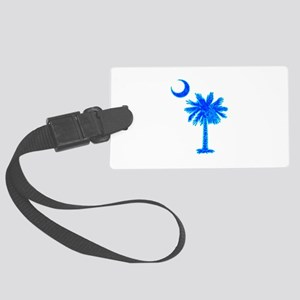 PALM AND CRESCENT Luggage Tag
