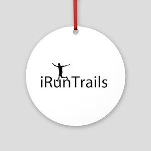 iRunTrails Ornament (Round)