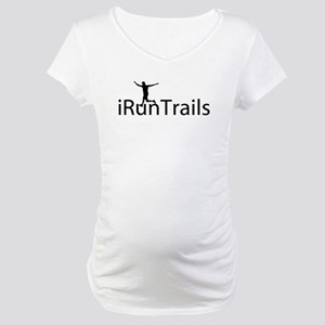 iRunTrails Maternity T-Shirt