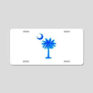 PALM AND CRESCENT Aluminum License Plate
