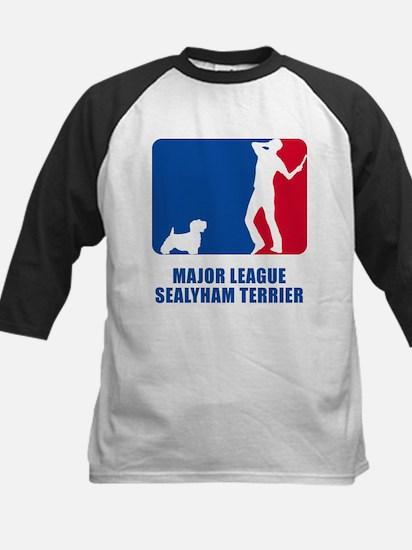Sealyham Terrier Kids Baseball Jersey