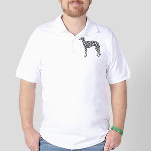 Scottish Deerhound Golf Shirt
