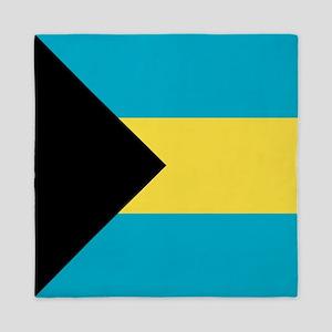 Flag: The Bahamas Queen Duvet