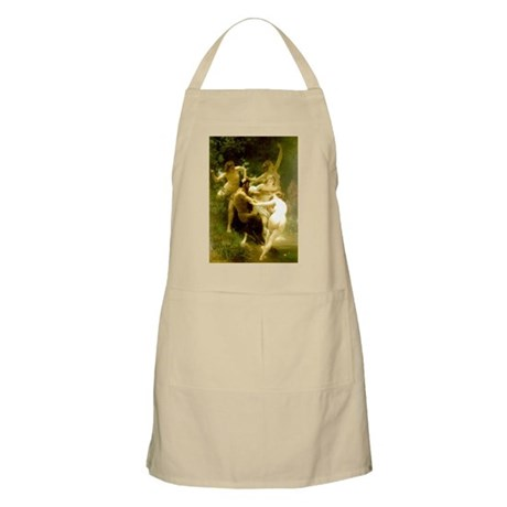 Nymphs and Satyr BBQ Apron