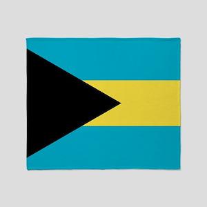Flag: The Bahamas Throw Blanket