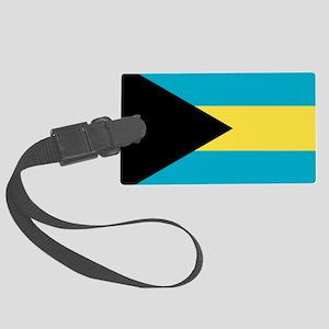 Flag: The Bahamas Large Luggage Tag