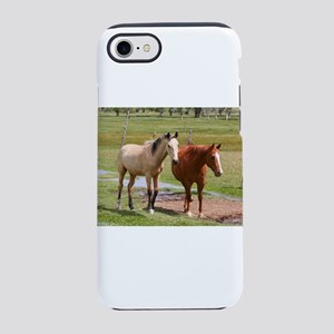 Horses in the field, Utah iPhone 8/7 Tough Case