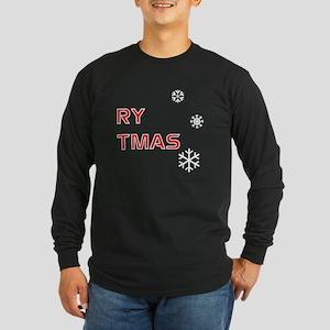 Merry Christmas, Pt. 2 - Long Sleeve Dark T-Shirt