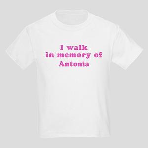 Walk in memory of Antonia Kids Light T-Shirt