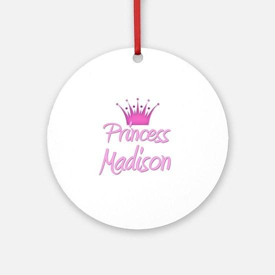 Princess Madison Ornament (Round)