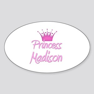 Princess Madison Oval Sticker