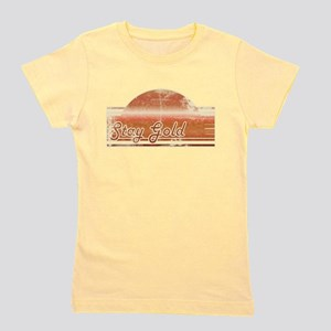 Vintage Distressed Stay Gold T-Shirt