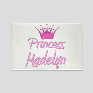 Princess Madelyn Rectangle Magnet