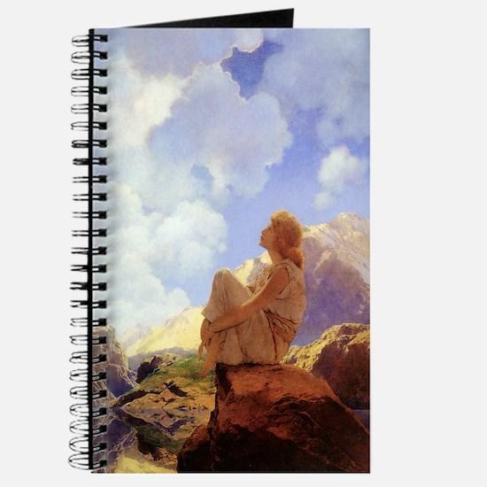 "Maxfield Parrish ""Morning"" Journal"