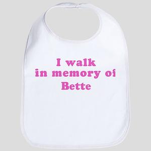 Walk in memory of Bette Bib