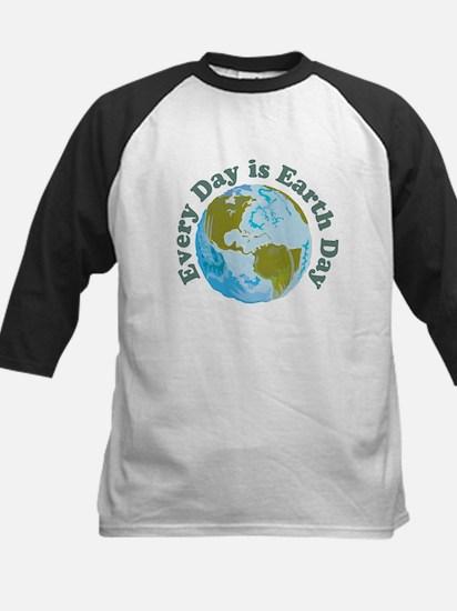 Earth_Button Baseball Jersey