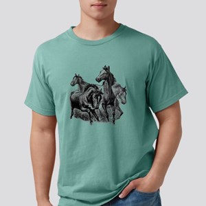 Wild Horses Illustration T-Shirt