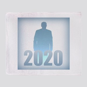 Trump 2020 Throw Blanket
