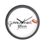Weather Diva Wall Clock