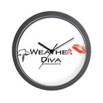 Weather Diva Wall Clock