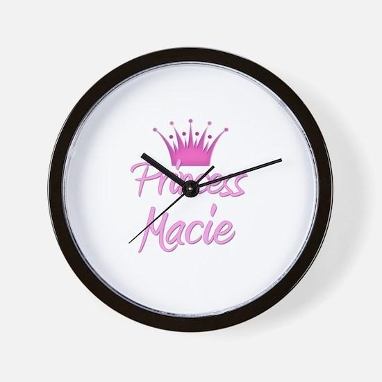 Princess Macie Wall Clock