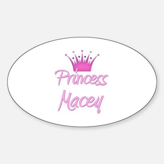 Princess Macey Oval Decal